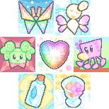Paper Mario Avatars by SugarySweetSprites