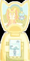 Cream's Flower Toss by SugarySweetSprites