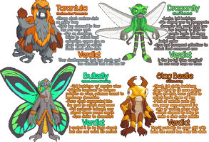 Open! - Character Design Practice ACNL Bugs by SugarySweetSprites