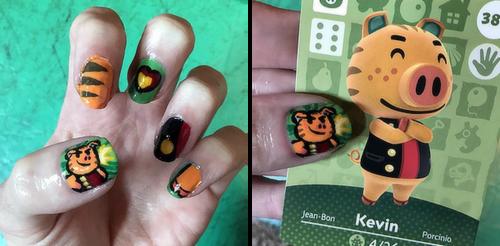 ACNL Kev Nails by SugarySweetSprites