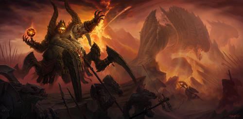 Blizzcon 2011 Diablo 3 Azmodan by NorseChowder