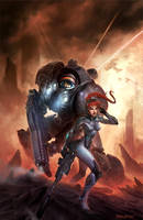 Starcraft Flashpoint Cover Art by NorseChowder
