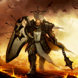Diablo 3: Reaper of Souls Box Art Crop by NorseChowder