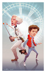 Back to the Future! by NorseChowder