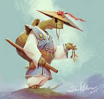 Turtle Samurai by NorseChowder