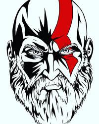 Kratos  by DiWighte