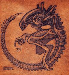 Alien lv427 by DiWighte