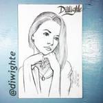 Portrait girl  by DiWighte