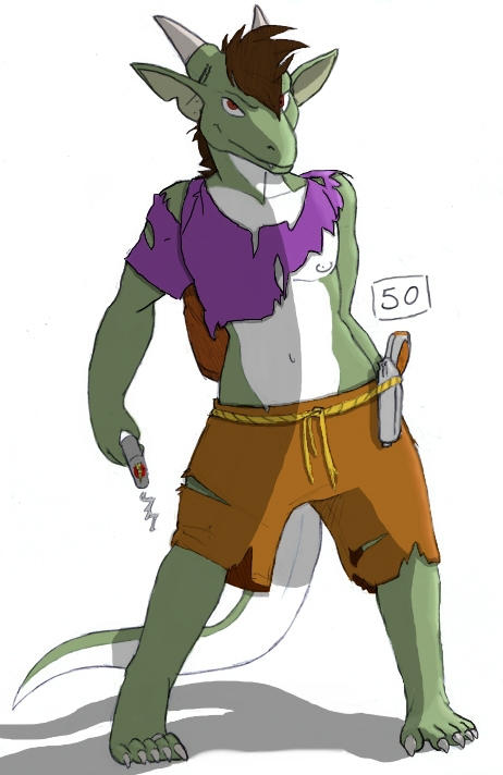 Marvin 2 - Colored by dracenmarx