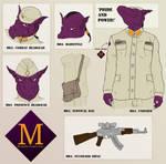 MDA Uniform Reference by dracenmarx