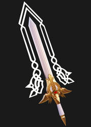 The Sacred Sword - Excalibur by Silshadnic