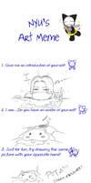 Nyu's Art Meme by ComiPa