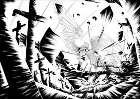 Battle In Purgatory by ComiPa