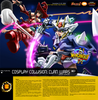 M3con09 CosCol Clan Wars by ComiPa