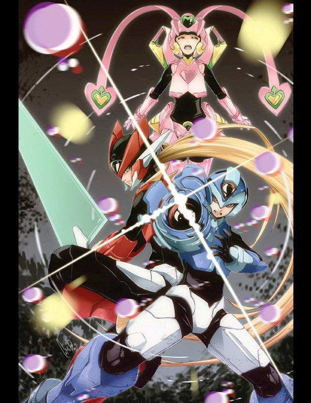 Megaman Tribute by ComiPa