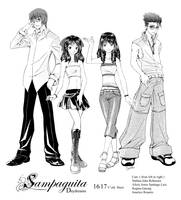 SD cast by ComiPa