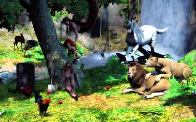 The Garden of Eden by Chaosqueens-World