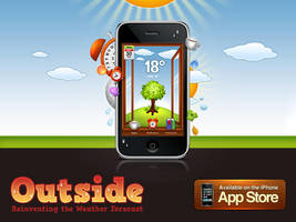 Outside app now Available by Flarup