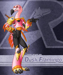 Dusk Flamingo by SpindriftPrime