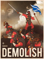 Team Fortress 2 Demo Propaganda by SpindriftPrime