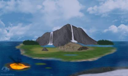 Twin Falls Island (Freebie Map) by xNightxx
