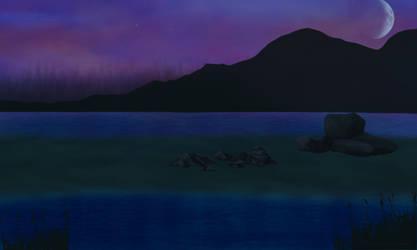 Twilight Marsh by xNightxx