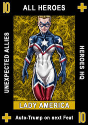 Hero Suit Card Sample by ZenithComics