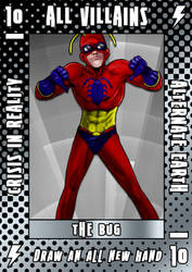 HEROIC RPG: Villain Card by ZenithComics