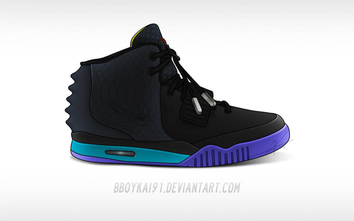 Nike Air Yeezy 2  Aqua  by BBoyKai91 on DeviantArt 497c45fcc