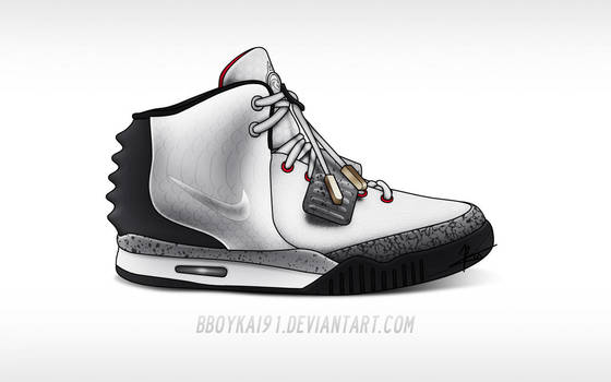 Nike Air Yeezy 2  White Cement  by BBoyKai91 on DeviantArt 18baf9180