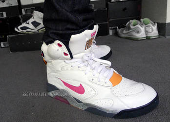 BBoyKai91 3 0 Nike Air Force 180 Pump  Sunrise  1 by BBoyKai91 b87dae157