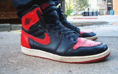 BBoyKai91 3 0 1994 Air Jordan 1 Retro Black Red by BBoyKai91 5f2801000