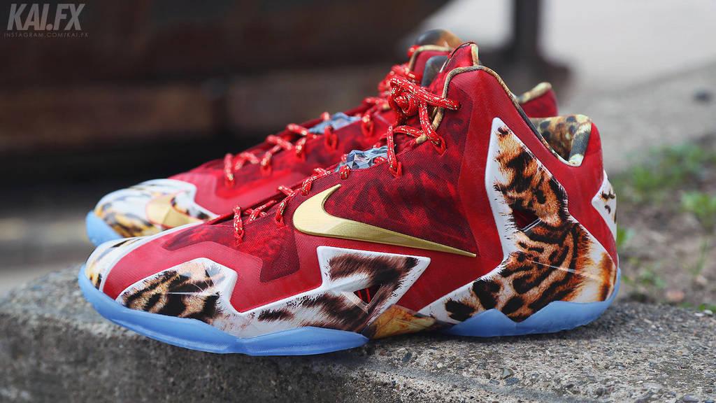 sports shoes 452f8 15ec3 Nike Lebron 11 Premium  2K14  by BBoyKai91 ...