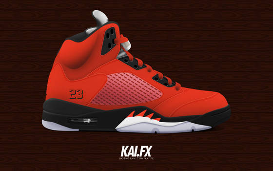 Air Jordan 5 Retro DMP  Toro Bravo  by BBoyKai91 on DeviantArt 30671021a