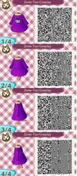 Animal Crossing - Zone-Tan Dress by Strange-lil-Cupcake
