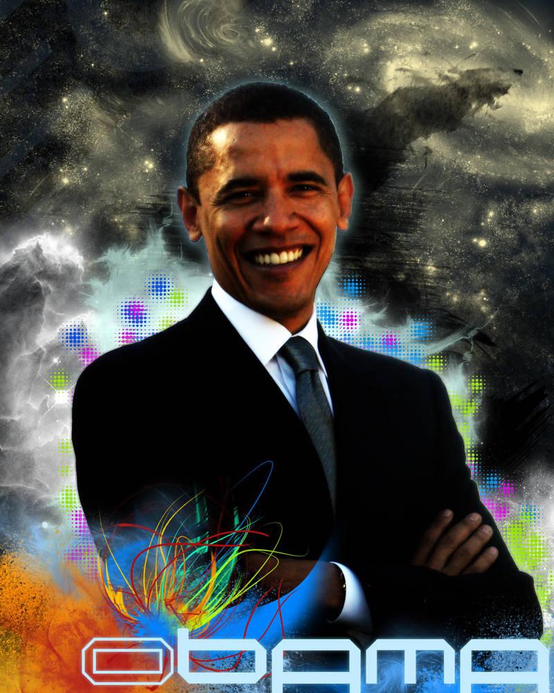 Obama, Champion of the Univers by AV571N