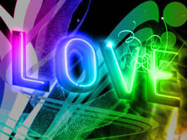 Neon Love by AV571N
