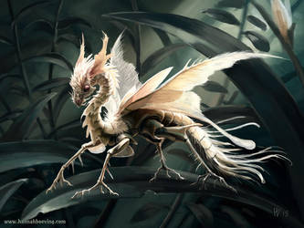 Insect dragon by benu-h