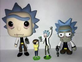 Custom Evil Ricks by Evilunicorn97