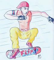 Skater Boy by by-nafm