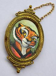 Tigress King Fu Panda by Mimizuku