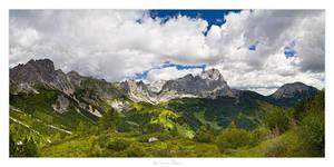 Dachstein Panorama - 01 by AndreasResch