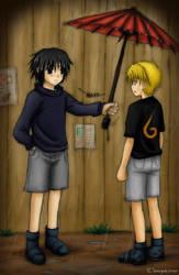 sasunaru-I'll go pick you up.. by mayukichan
