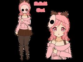 :~ [PokeFusion] Skullrubi Gijinka ~: by SakuraRoseLily