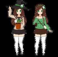 :~ Garden Witch Rosemary ~: by SakuraRoseLily