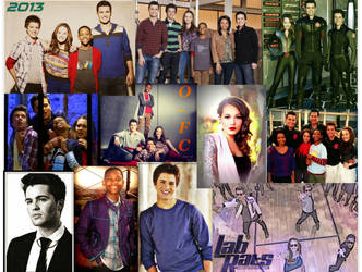Lab Rats Cast Collage by Orange-FeatherCanary