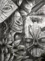 Tiki Mask by Noxiihunter