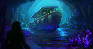 Cave Boat by Noxiihunter