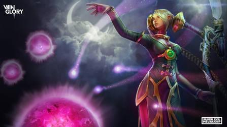 Vainglory Hero: Celeste by Noxiihunter