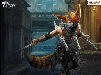 Vainglory Hero: Taka by Noxiihunter
